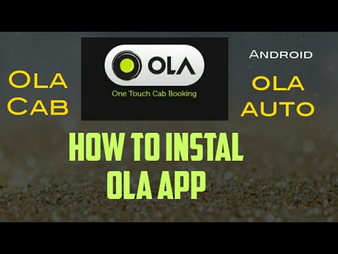 How To Install Ola App & How To Book Ola Auto