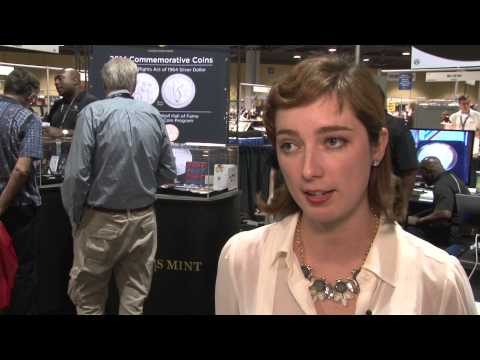 Cassie McFarland Talks About Designing Baseball Hall Of Fame Coin. VIDEO: 4:30.