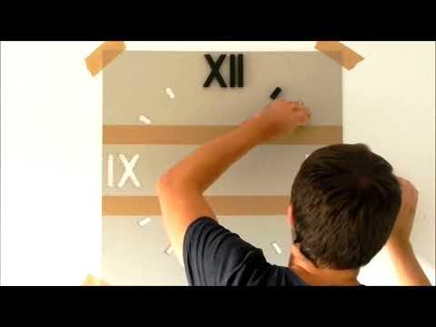 HolzKaspero Montageanleitung für die Wanduhr Kasper'o'clock