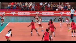 POLONIA VS KOREA VOLEY  EN VIVO