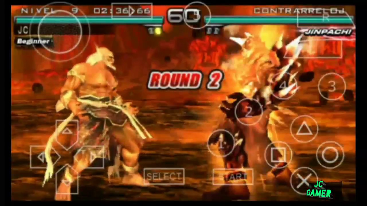 Jinpachi Humano En Dark Resurrection Tekken Dark Resurrection Ppsspp Mods By Chico Saiyan