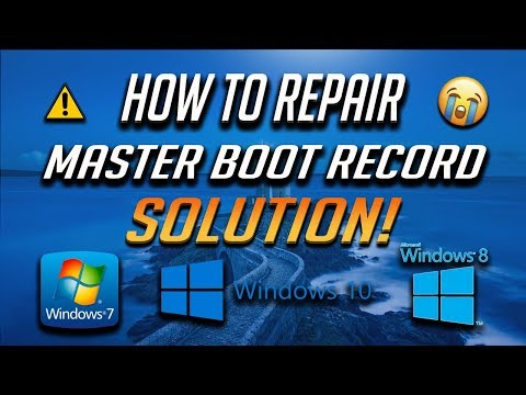 How To Repair Master Boot Record In Windows 7/8/10 - [5 Solutions 2019]