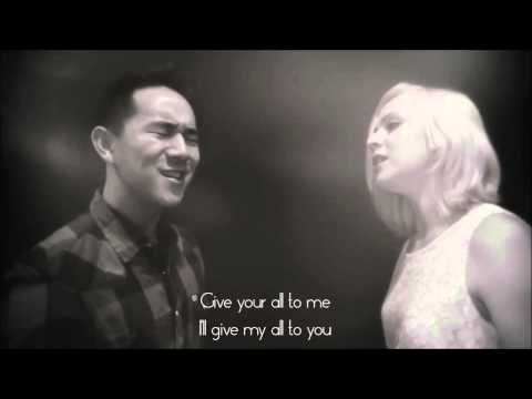"""All Of Me"" John Legend - cover by Jason Chen & Madilyn Bailey lyrics"