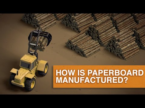 How is Paperboard Manufactured?