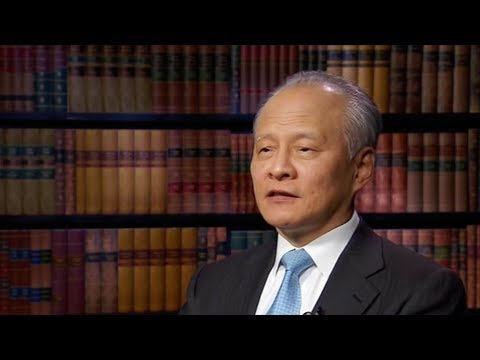 The Chinese Ambassador to the US, Cui Tiankai, spoke about the US's proposed tariffs