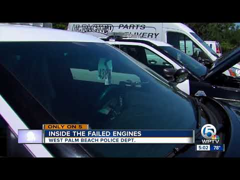 WPB police cars: Inside the failed engines
