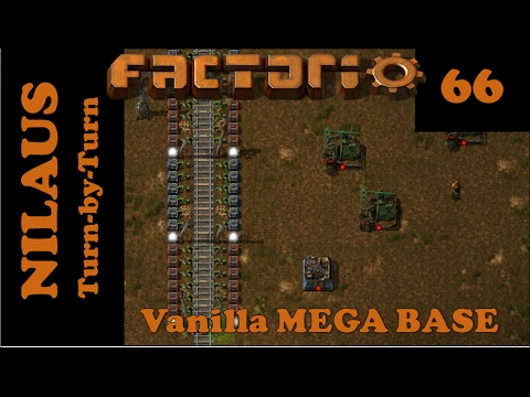 Factorio S7E66 - Clearing Aliens and additional Oil fields