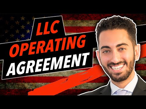 Llc Operating Agreement Youtube