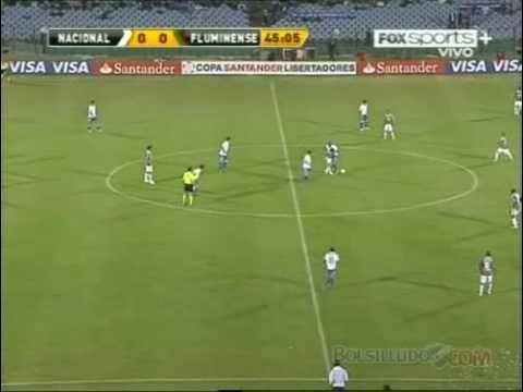 Nacional 2-0 Fluminense / 2do Tiempo / Copa Libertadores 2011