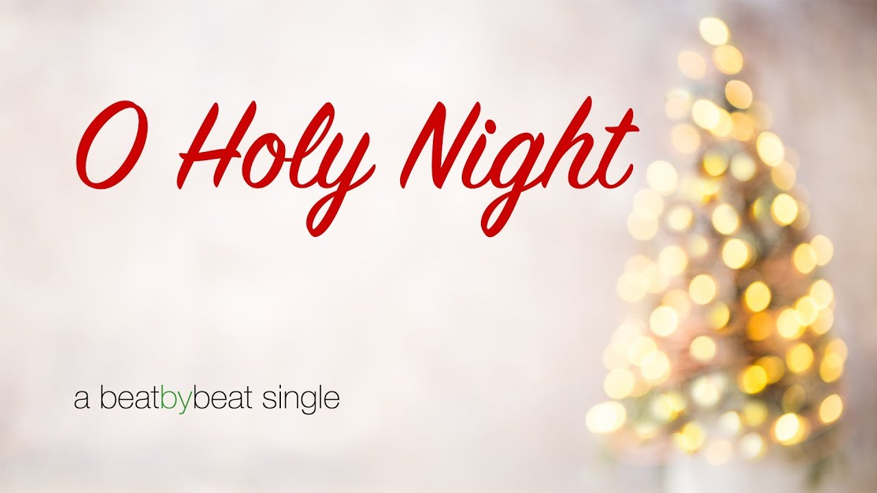 O Holy Night - Karaoke Christmas Song - YouTube
