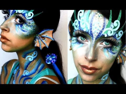Halloween Makeup: Mermaid - YouTube