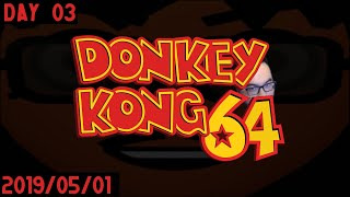 lestermo on Twitch | Donkey Kong 64: day 03