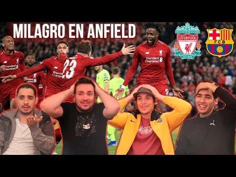 Liverpool 4 Barcelona 0 | Semi Final – VUELTA | Champions League 2019 Video Reacción