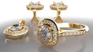 RhinoGold Halo Collection