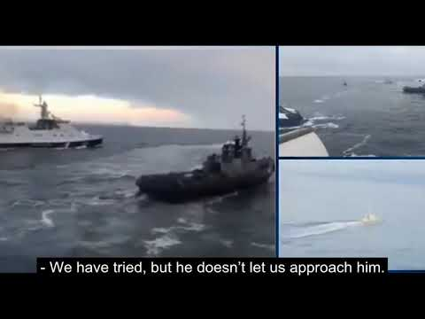 Intercepted Radio Communications of Russians During the Attack on Ukrainian Ships. [ENG]