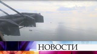 В Средиземном море продолжается поисковая операция на месте гибели российского самолета Ил-20.