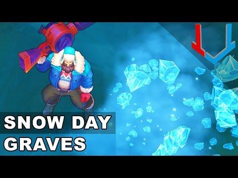 Snow Day Graves Skin Spotlight (League of Legends)