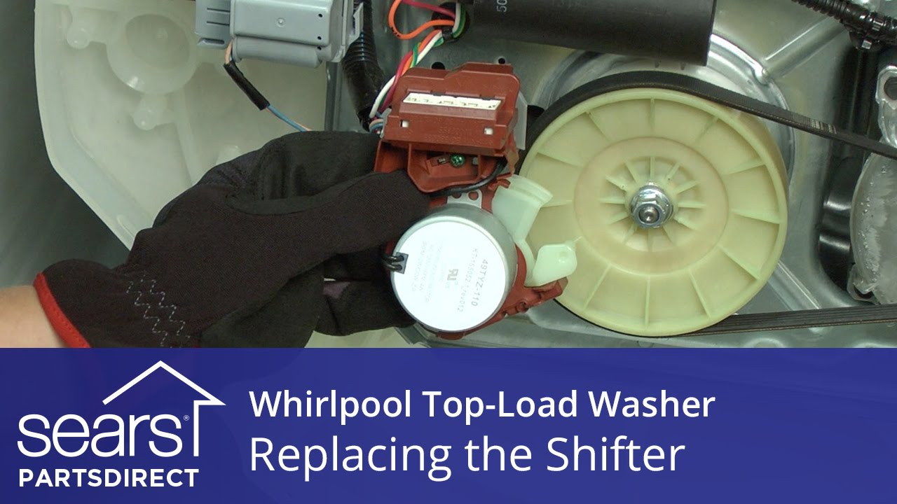 How To Replace The Shifter Assembly On A Whirlpool