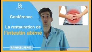 Conférence La restauration de l'intestin abîmé