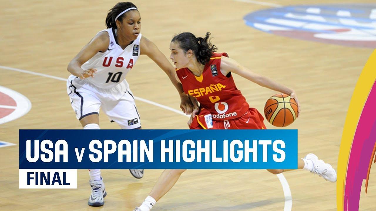 06 July - USA v Spain - Highlights Final