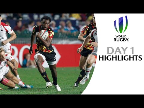 Blistering start to Hong Kong Sevens: Day One Highlights
