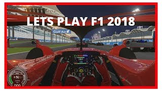 F1 2018 Game PC - Assetto Corsa - Bahrain Grand Prix Gameplay HD [Ferrari]