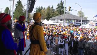 Jaz Dhami performs Sardari for 200,000 people in Vancouver