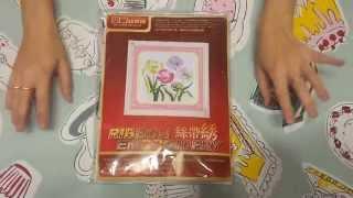 видео Набор вышивки лентами