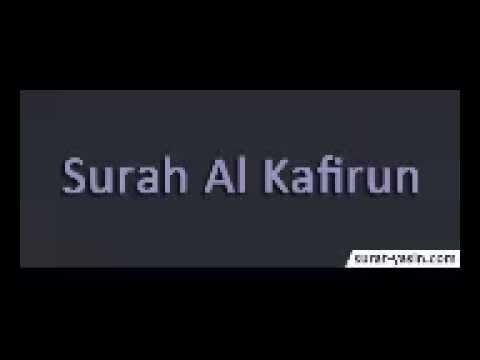 Surah Al Kafirun Merdu