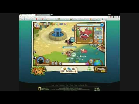 ANIMAL JAM NECKLACE TO SPIKE CHALLENGE LIVE! +Role play?!?