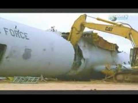 Утилизация самолета