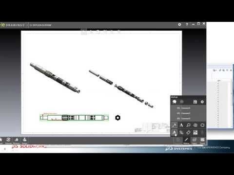 SOLIDWORKS EPDM: Quick Look demonstration - Packer assembly - Oil and Gas
