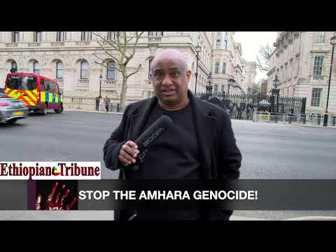 Spotlight on The Amhara Genocide: The Need for an Urgent Response 'Stop The Amhara Genocide' Protest