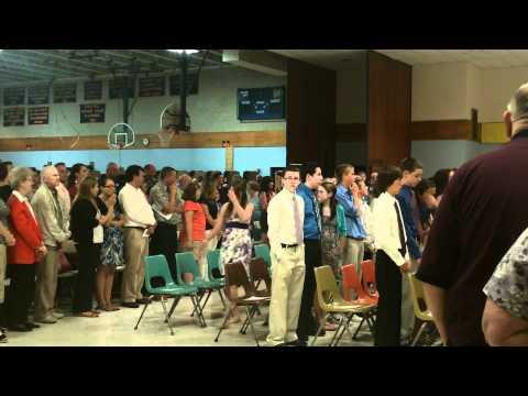 6/23/2011 - North Cumberland Middle School graduation, Cumberland, RI *2 of 7*