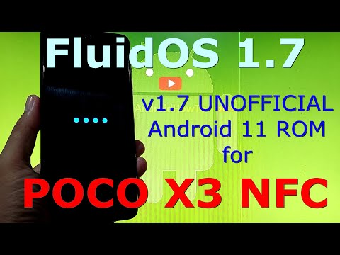 FluidOS 1.7 UNOFFICIAL for Poco X3 NFC (Surya) Android 11