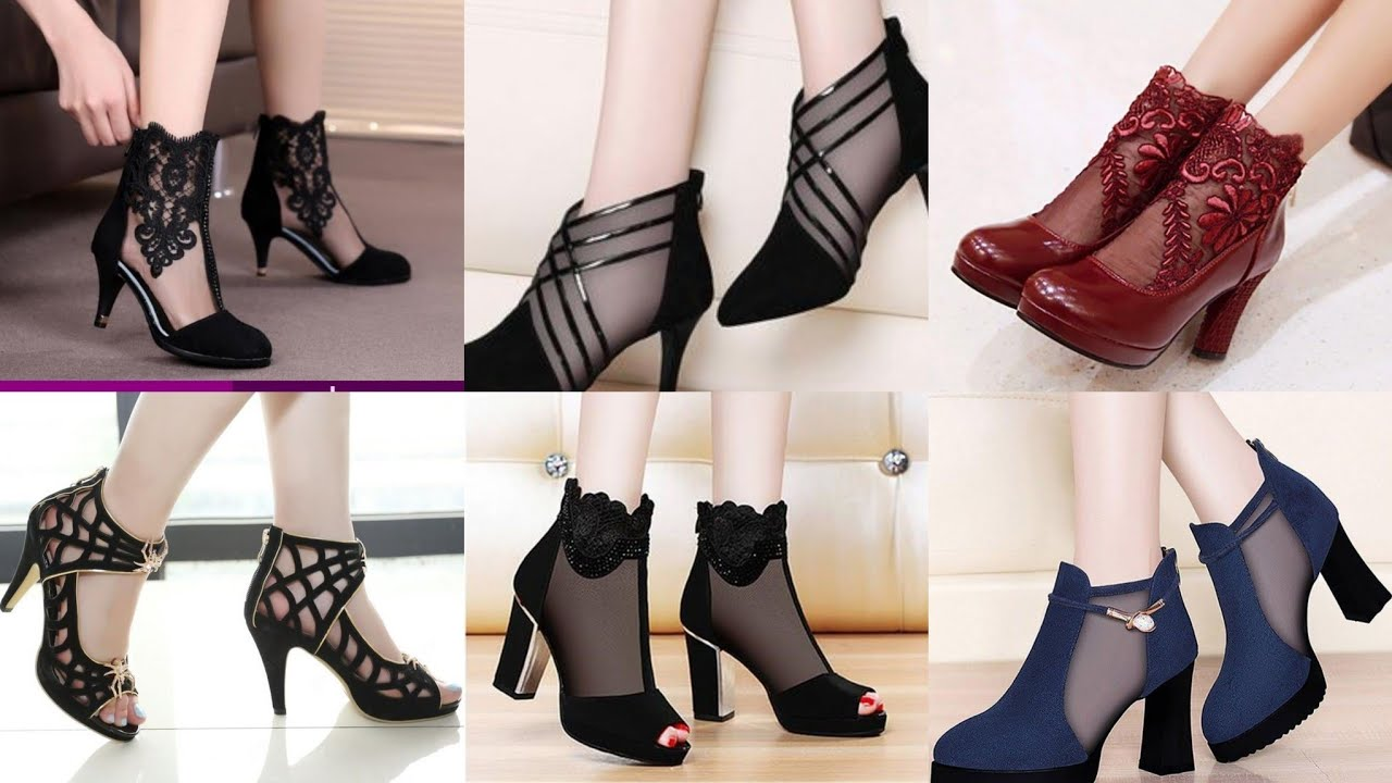 ankle boots with party dresses