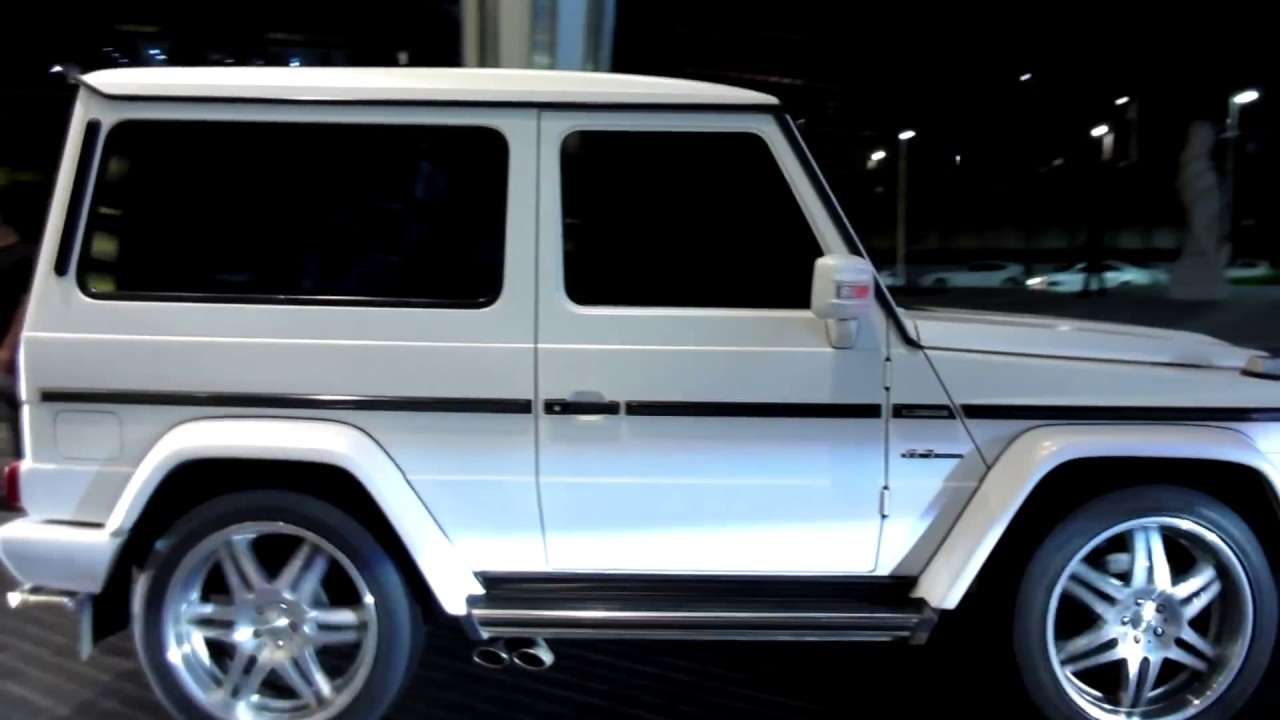 Amg G Wagon >> Dubai's only 2-door (fake) G63 AMG Mercedes-Benz with ...