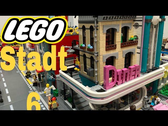 Lego Stadt Update 6/ Ein neuer Platz für das Diner