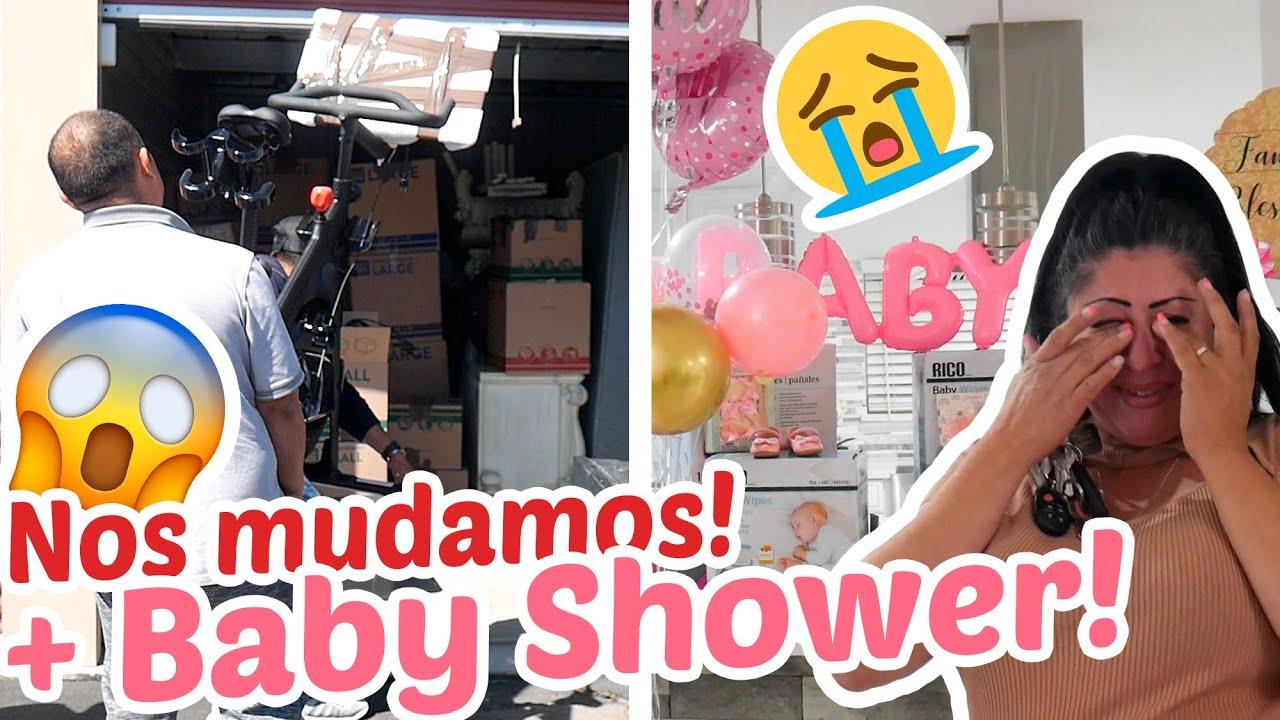 NOS MUDAMOS ☹️🔐 + MINI BABY SHOWER SORPRESA!! 🎉