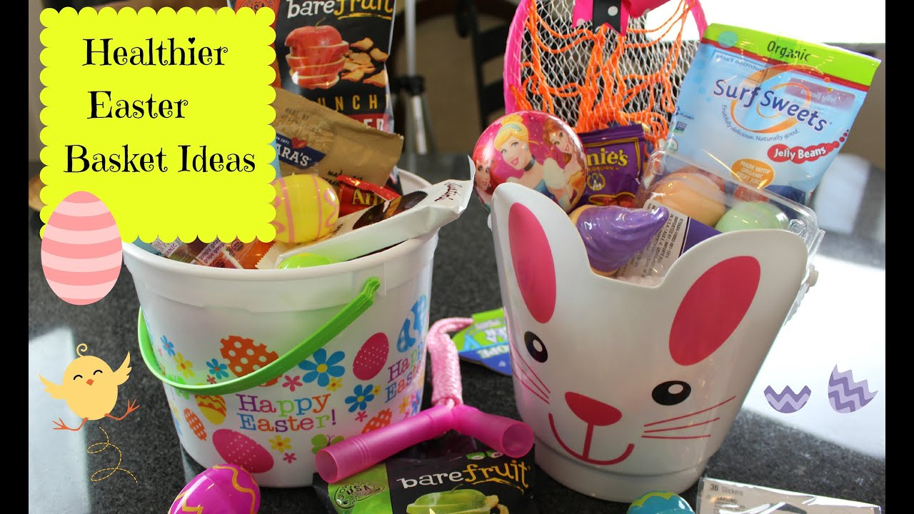 Healthier easter basket ideas youtube healthier easter basket ideas negle