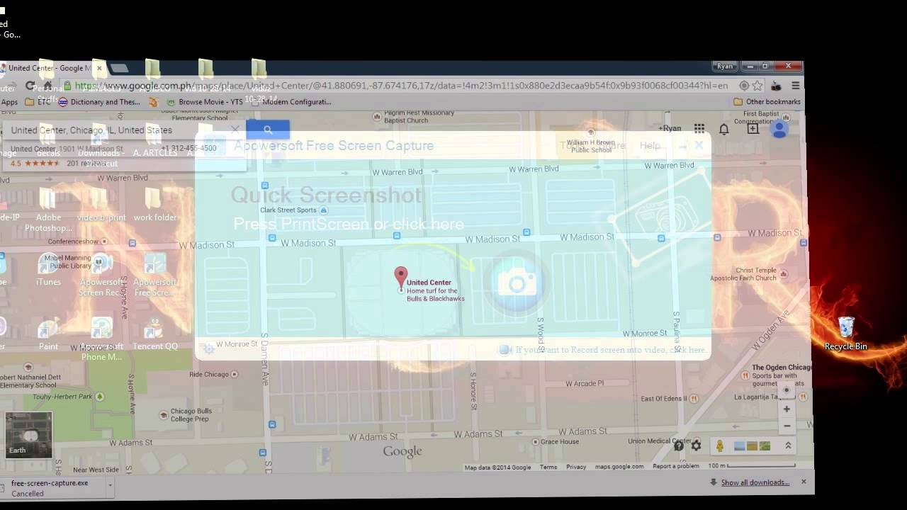 Simple ways to take a screenshot of Google Maps