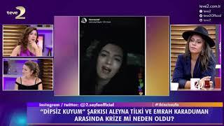 2. Sayfa: Aleyna Tilki neden hüngür hüngür ağladı?