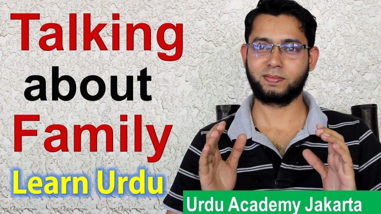 Family Members In Urdu Language