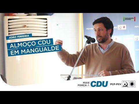 João Ferreira: Almoço CDU em Mangualde