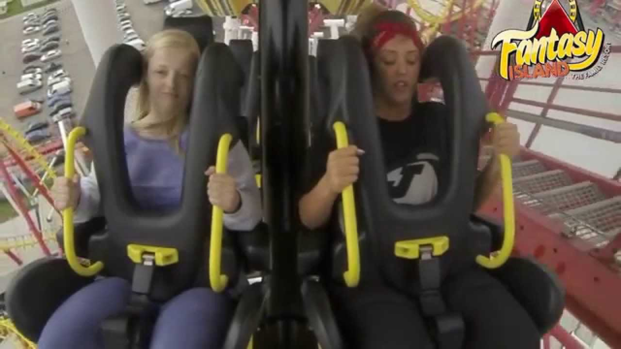 Charlotte Crosby Rides The Odyssey Rollercoaster Wardrobe