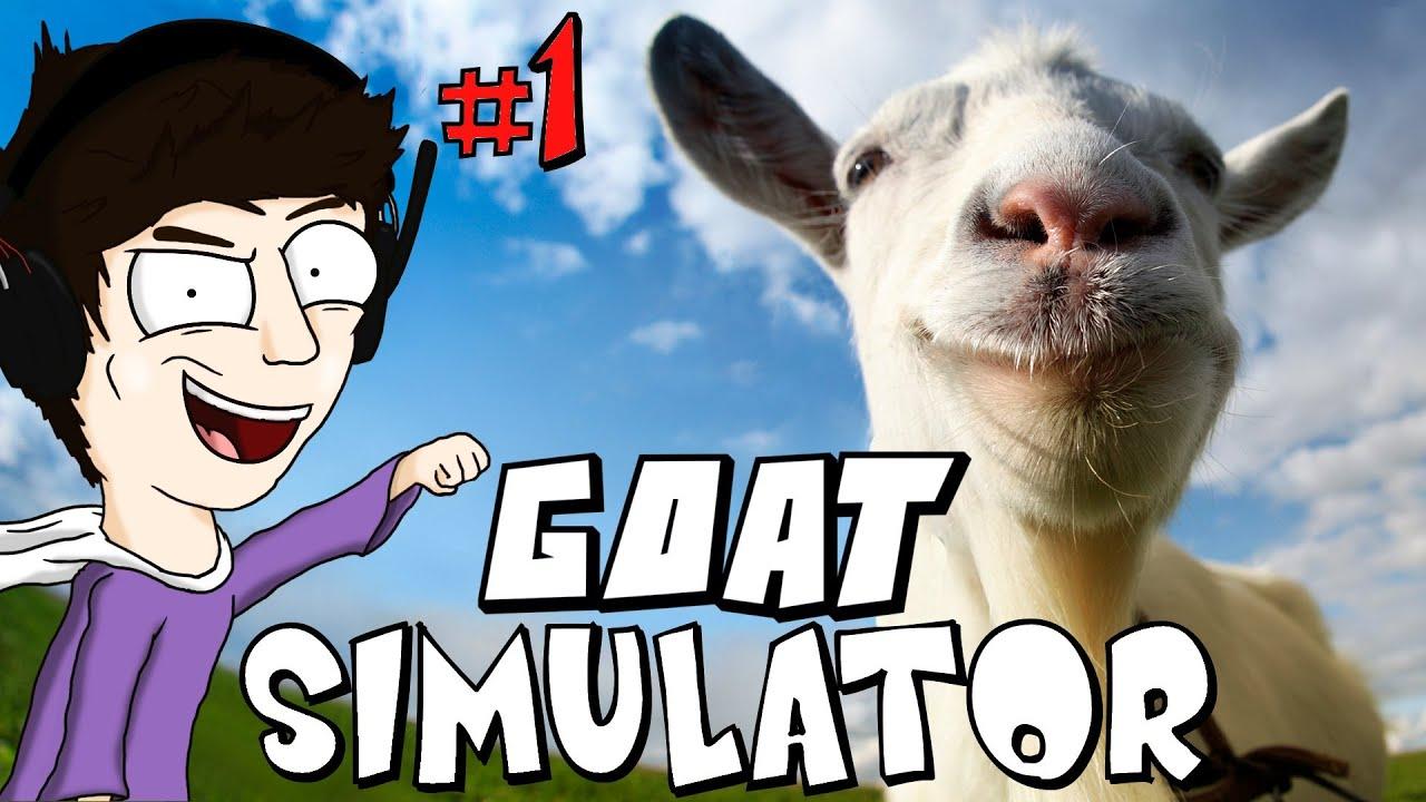 Goat Simulator - IL SIMULATORE DI... CAPRE!! :'D
