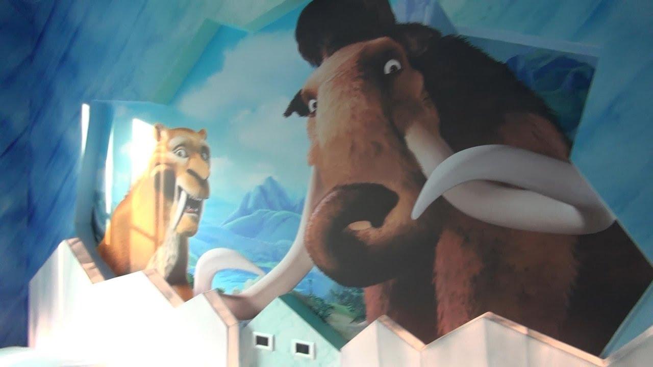 chambre  theme l age de glace Gardaland h´tel camera a tema L ERA