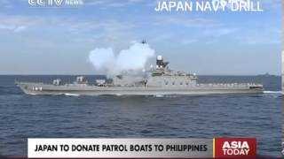 Japan to give patrol boats to Manila amid China tensions