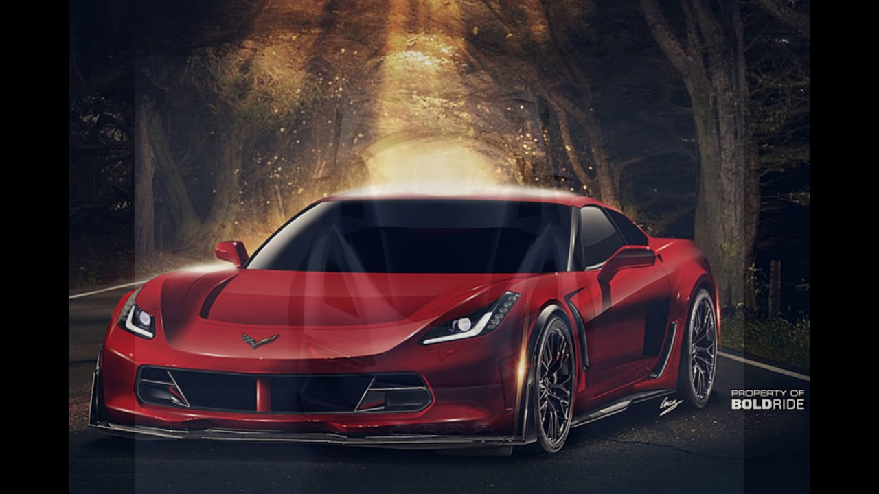 2020 The Mid-Engined Chevrolet Corvette C8 New Concept ...