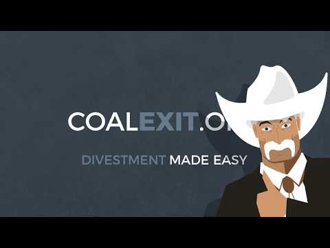 Coal Exit: Divestment Made Easy!